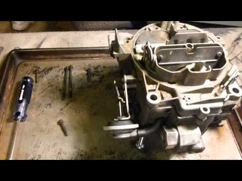 Rochester Quadrajet 4MV Carb Rebuild Part 1