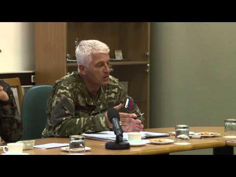 Vaja PREMIK 2013 - podpolkovnik Dragomir Pavković