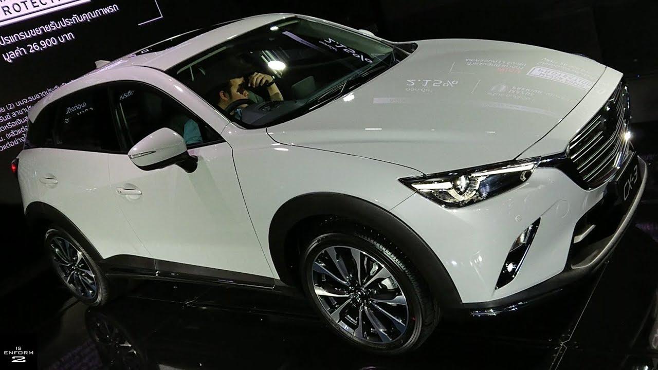พาชม 2019 Mazda Cx 3 Minorchange 1 5 Xdl Sel ภายนอก ภายใน