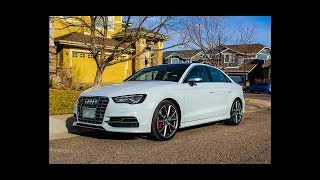 POV Test Drive: 16 Audi S3 IE Stage 1 Tuned
