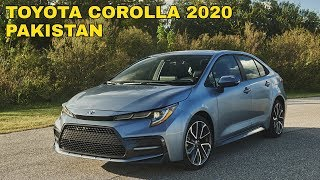 All New 2020 Toyota Corolla Hybrid, Pakistan.