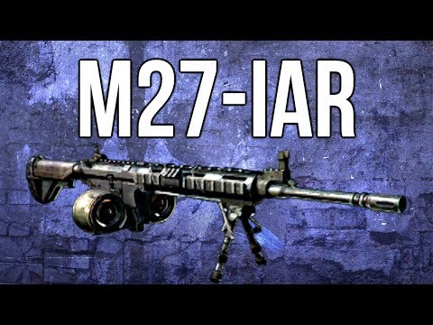 Ghosts In Depth - M27-IAR LMG Review (& Stealth Class)