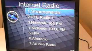 Xoro HMT 350 Internet Radio & TV - Using Internet Radio