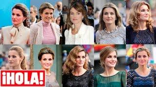 Así ha vestido la reina Letizia en las anteriores ediciones de los premios Príncipe de Asturias