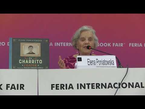 EL CHARRITO CANTOR  de Elena Poniatowska en FIL Guadalajara 2017