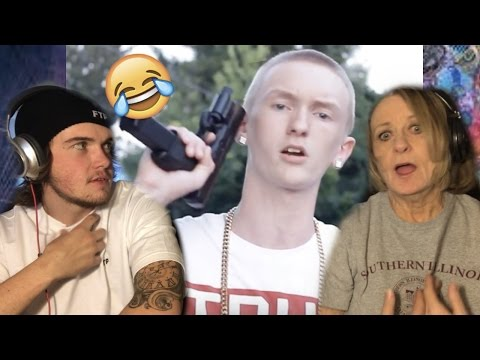 Grandma REACTS to Slim Jesus - Drill Time(FUNNY!)