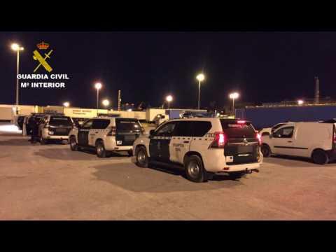 Operación Jabato. Operaciones de la Guardia Civil. Ceuta