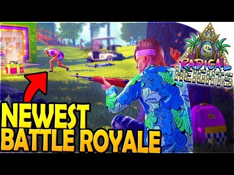 RADICAL HEIGHTS - *FREE* & NEW Battle Royale Game!! (Radical Heights High Kill Gameplay)