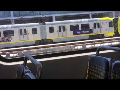 Riding the LA EXPO Line from Santa Monica to Pico (ALMOST-FULL JOURNEY)
