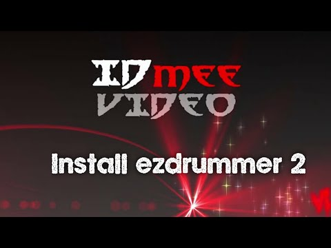 How To Install EZX Death Metal Library For EZ Drummer 2