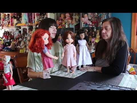 The Reluctant Reviewer and Kewpie 83 stumble upon clothes that fit the Animator dolls