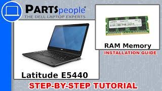 Dell Latitude E5440 RAM Memory How-To Video Tutorial