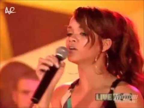 Rihanna -  Pon De Replay Live At MuchMusic