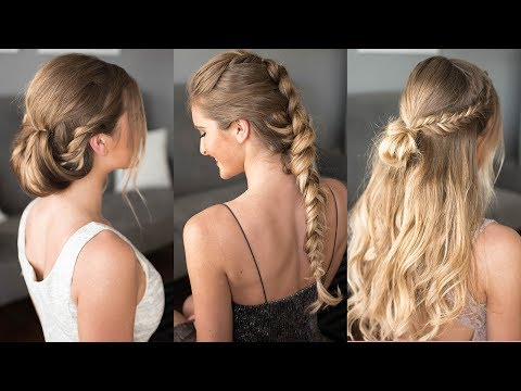 3 Easy Prom Hairstyles