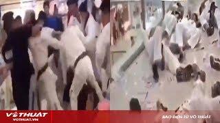 Taekwondo vs Gymer - Hỗn chiến như phim hành động và cái kết không thể ngờ
