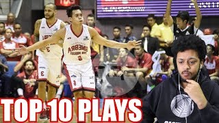 SCOTTIE THOMPSON TOP 10 FINALS MVP PLAYS REACTION ( PBA COMMISSIONERS CUP HIGHLIGHTS )