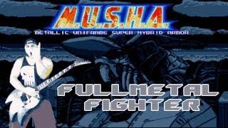 Game Metal Play: M.U.S.H.A. Aleste - Fullmetal Fighter