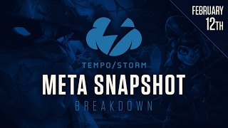 Hearthstone Meta Snapshot Breakdown: February 12, 2017