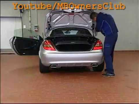 Mercedes-Benz SLK  |  Creaking Noises From The Trunk Lid
