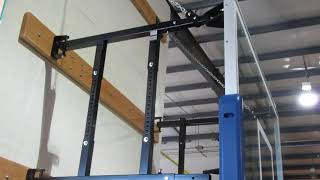 FoldaMount™ Folding Wall Mount Basketball Goal