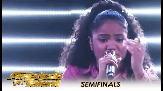 Amanda Mena: Bullied Teen Singer Has a Message To Fellow Victims | America's Got Talent 2018