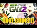 "Plants vs Zombies Garden Warfare 2 - How To Earn Lots Of Coins! ""Top 5 Ways To Earn Coins"""