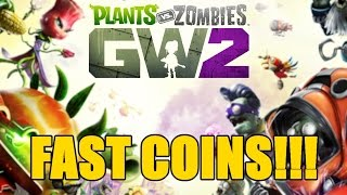Plants vs Zombies Garden Warfare 2 - How To Earn Lots Of Coins!