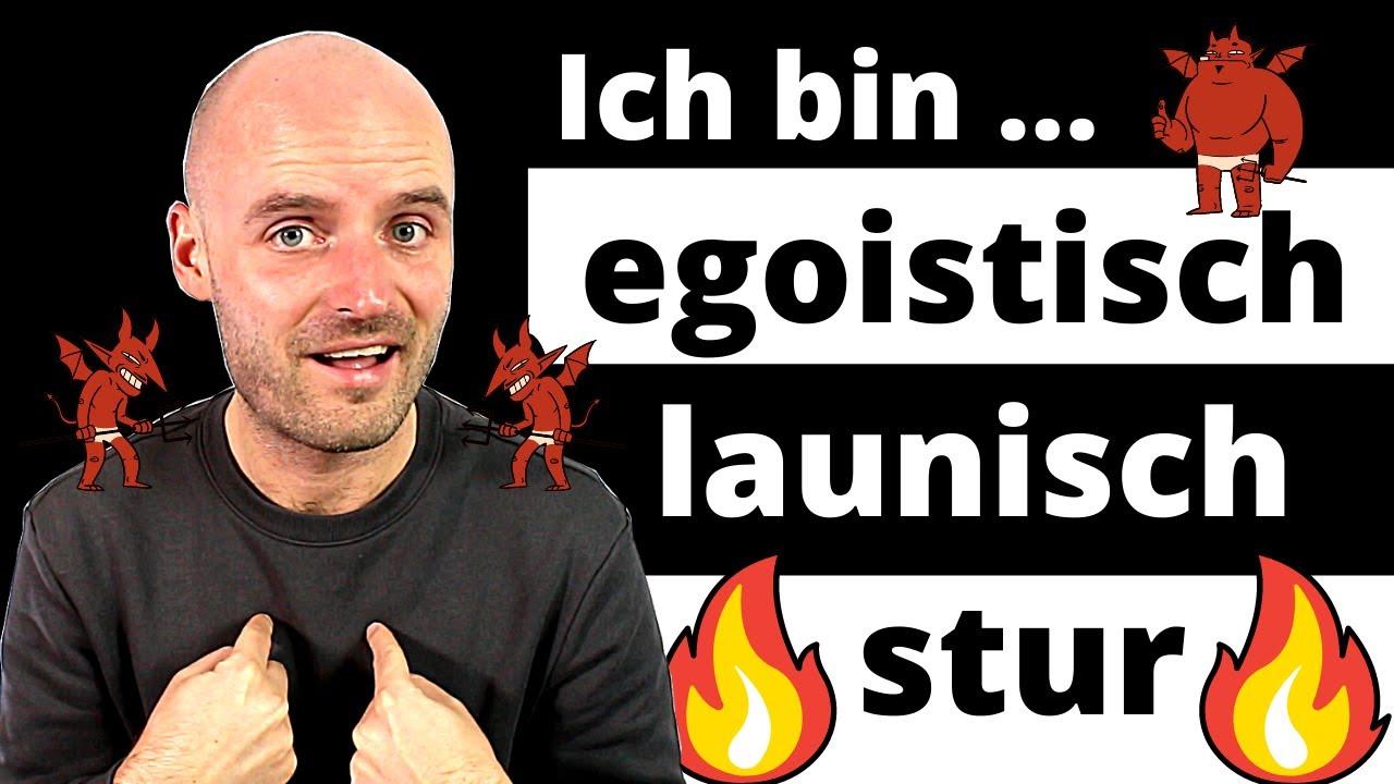 Negative Charaktereigenschaften | Deutsch lernen | A2 B1
