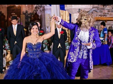 e9b110f01 Beauty & The Beast Dance - Jaylen's Quinces - YouTube