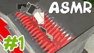 Shredder Simulator Games ASMR #1 (Front Yard)