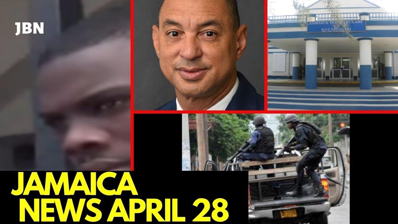 JAMAICA News April 28 2019/JBN |Firearm Seized | Canaan Heights| Don Wehby | Porus | Peter Phillips
