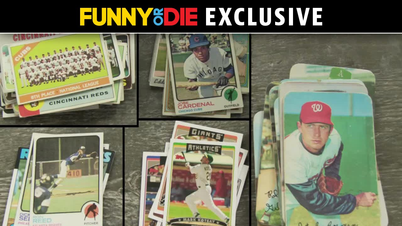 Baseball Card Theater Not Cliff Johnson