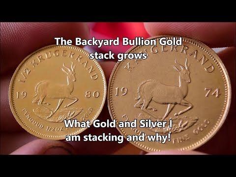 What Gold & Silver I am stacking and why - Buying more gold!