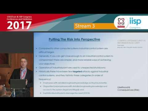 Industrial controls systems security – Peter Hazel, CRESTCon & IISP Congress 2017