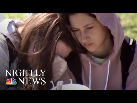 Students Walk Out Of Schools Nationwide To Demand Action On Gun Violence | NBC Nightly News
