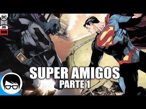 BATMAN Y SUPERMAN - SUPER AMIGOS (Parte 1) Batman #36   COMIC NARRADO