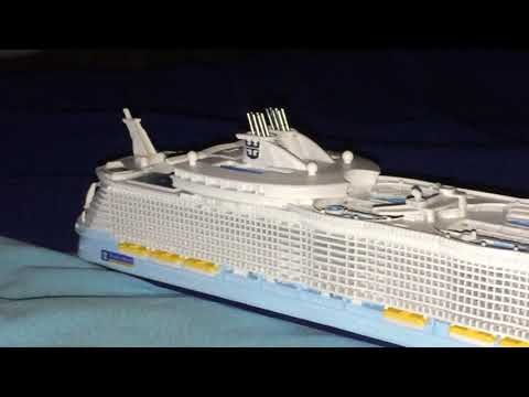 🆕Oasis of The Seas 1/1250 by Scherbak Ship Models Review