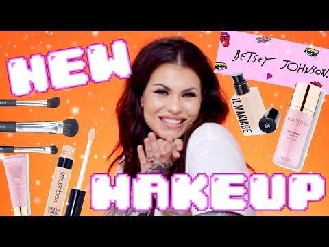 what's new in makeup land? also, a lovely GIVEAWAY for you | pr unboxing | Bailey Sarian thumbnail