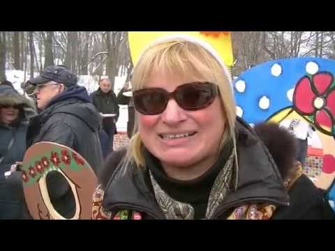 Boris and Svetlana - Maslenitsa in Cleveland Russian Cultural Garden