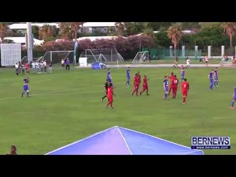 Bermuda vs Falkland Islands Mens Football, July 15 2013
