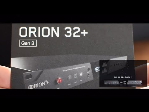 Orion 32+ Gen3 (français) | Antelope Audio