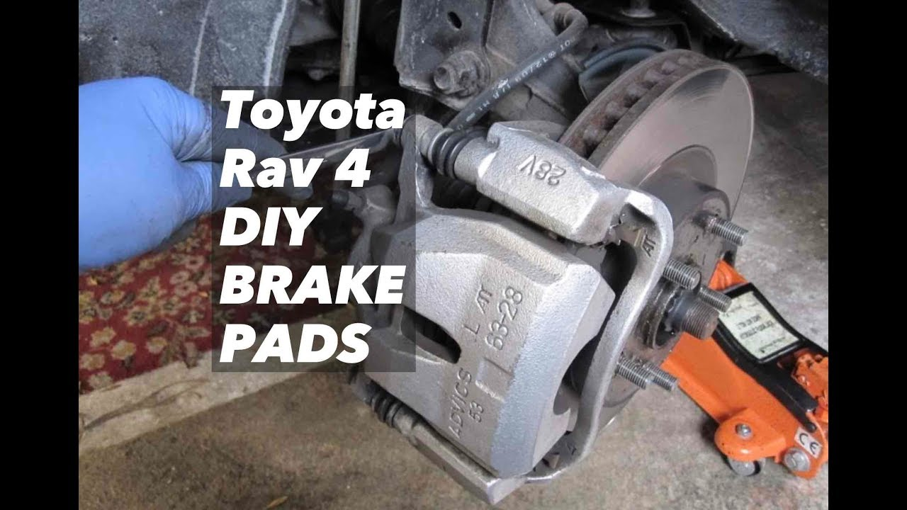 Diy How To Change Toyota Rav4 Brake Pads 2006 2017 Duralast Autozone