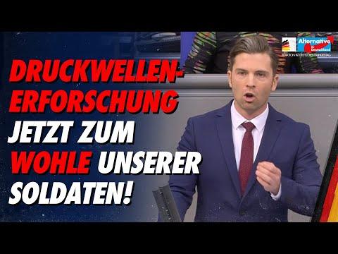 Druckwellen-Erforschung jetzt zum Wohle unserer Soldaten! - Jan Nolte - AfD-Fraktion im Bundestag