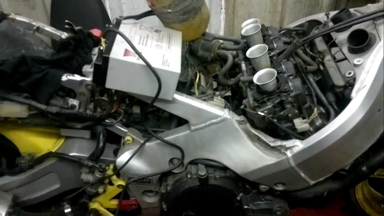 cbr400rr nc29 engine - YouTube