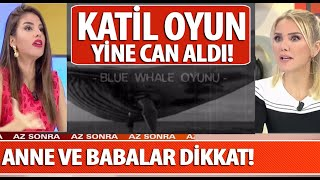 Mavi Balina oyununun son kurbanı liseli Ahmet