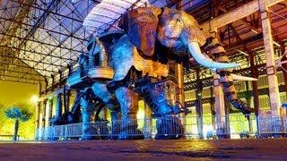 L'ELEPHANT MECANIQUE DE NANTES (LOUL)