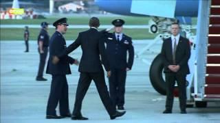 Obama Leaves US For Kenya