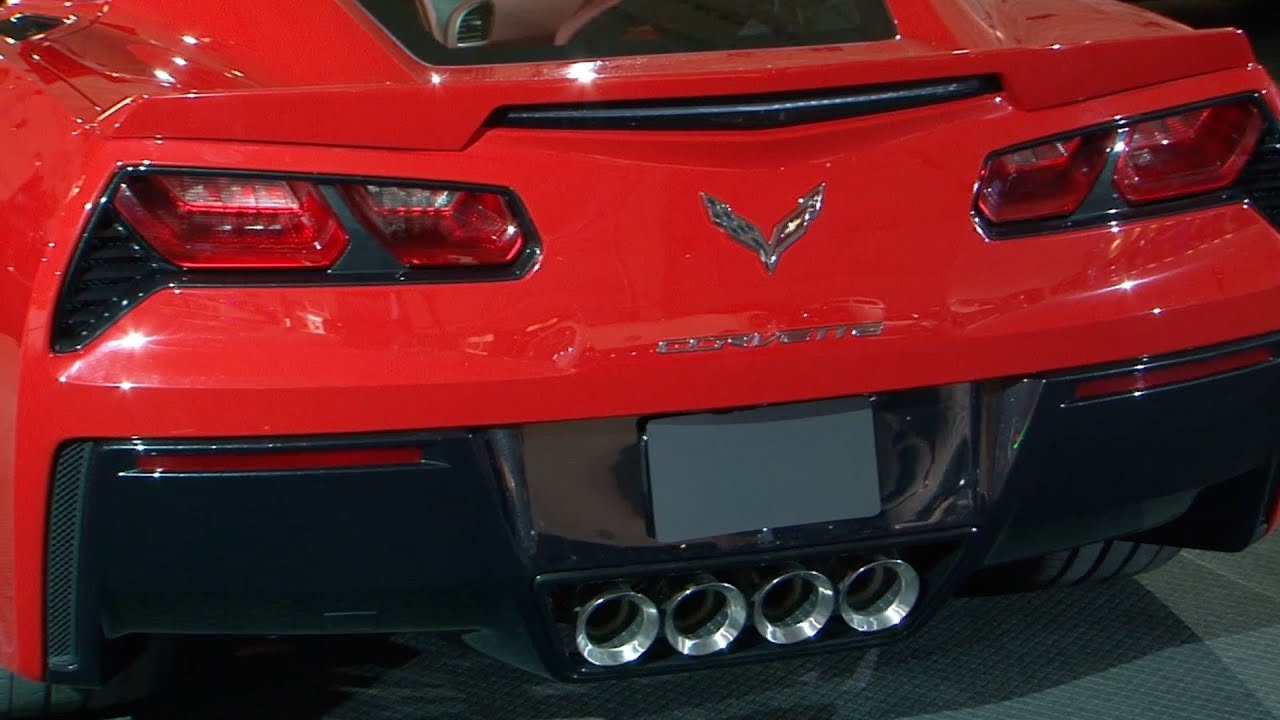 2014 Corvette C7 Stingray INTERIOR Amp EXTERIOR YouTube