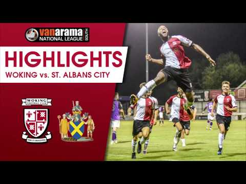 Woking 2 - 1 St Albans City (Match Highlights)
