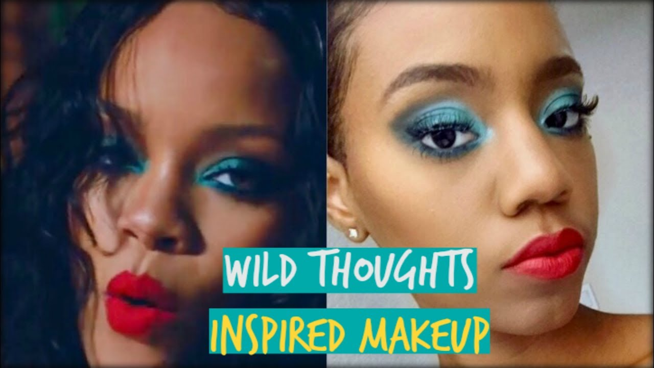 Rihanna Wild Thoughts Inspired Makeup Tutorial ♡